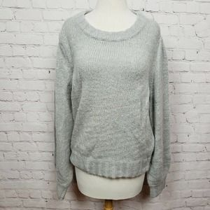 RAILS Sybil Pullover Knit Sweater In Heather Grey